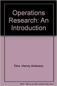 Amazon operations research an introduction 9780029467503 amazon operations research an introduction 9780029467503 hamdy abdelaziz taha books fandeluxe Choice Image