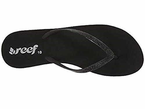 black Wedge Krystal Black Reef Star Women's Sandal WZvwWB7q