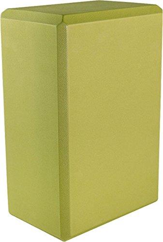 Yoga 4'' Foam Block (20-Pack), 4'' x 6'' x 9'', Green by MatsMatsMats.com