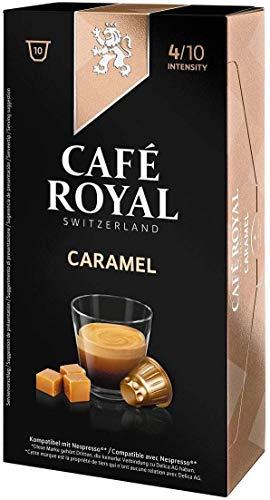 Café Royal Flavoured Edition Caramel 50 cápsulas compatibles con Nespresso* Intensidad: 4 de 10 (Pack de 5 x 10 cápsulas): Amazon.es: Alimentación y bebidas