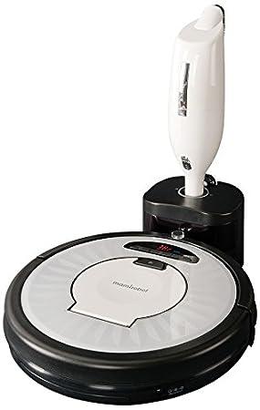 Mamirobot KF7 White - Robot aspirador + aspiradora de mano recargable, color blanco: Amazon.es: Hogar