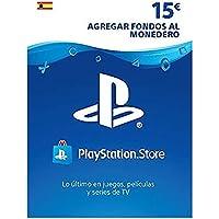 Sony, PlayStation - Tarjeta Prepago PSN 15€ | PS5/PS4/PS3 | Código de descarga PSN - Cuenta española