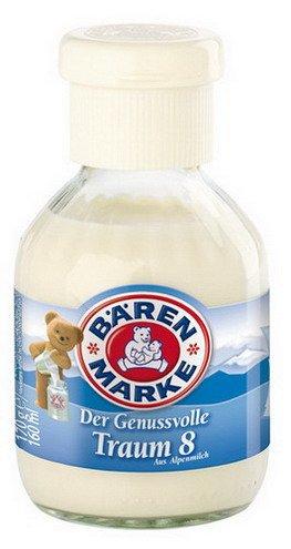 1 x oso Marca Café sueño 8% de grasa, leche condensada, dulces,