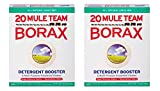 Borax 20 Mule Team Detergent Booster & Multi-Purpose Household Cleaner Box, 65 Oz (Pack of 2)