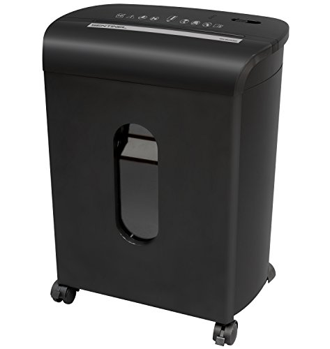 Sentinel Microcut Paper Shredders FM104P-BLK 10-Sheet Microcut Paper Shredder