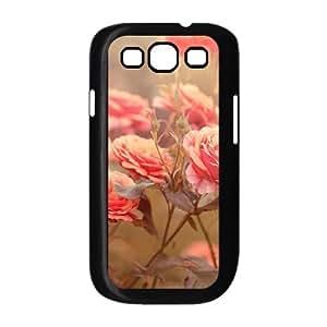 Carnation Custom Cover Case with Hard Shell Protection for Samsung Galaxy S3 I9300 Case lxa#457818 Kimberly Kurzendoerfer