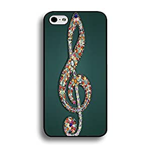 Mint Retro The Beatles Phone Case Cover for Iphone 6 Plus / 6s Plus ( 5.5 Inch ) Special Guitar Painted