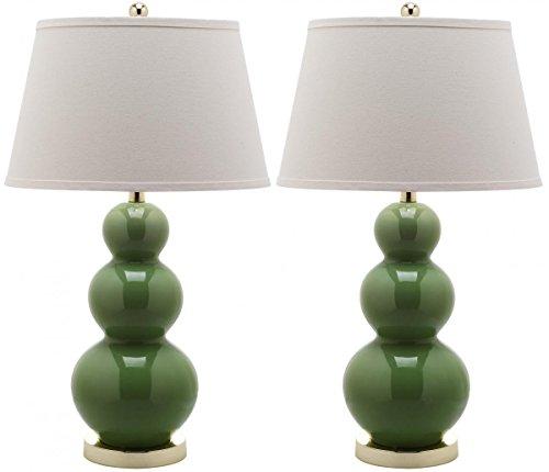 Safavieh Pamela Triple Gourd Lamp, Set of 2 - Form Gourd Lamp