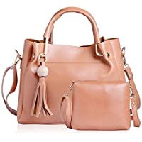 CLASSIC FASHION Women's Pu Hand Bag (Cream)
