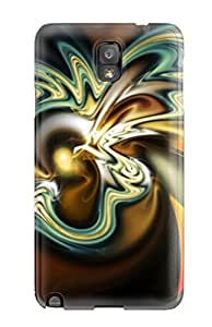 Craigmmons Case Cover For Galaxy Note 3 - Retailer Packaging Fractal Illusion Protective Case by mcsharks