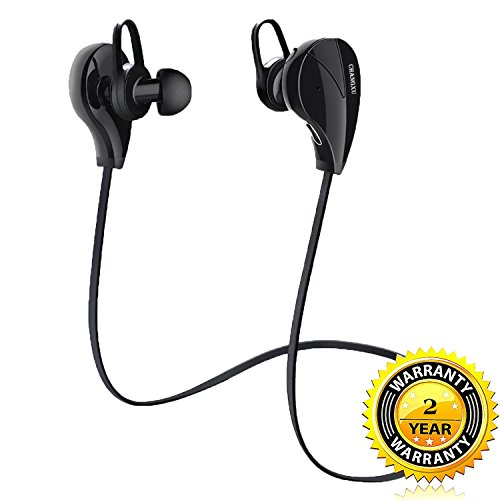 Wireless Earbuds Noise Cancelling In-Ear Headphone with Mic HD Stereo Sweatproof Anti-Drop 0.5oz Lightweight Noise Isolating for Sport Gym Running Workout for 8hours