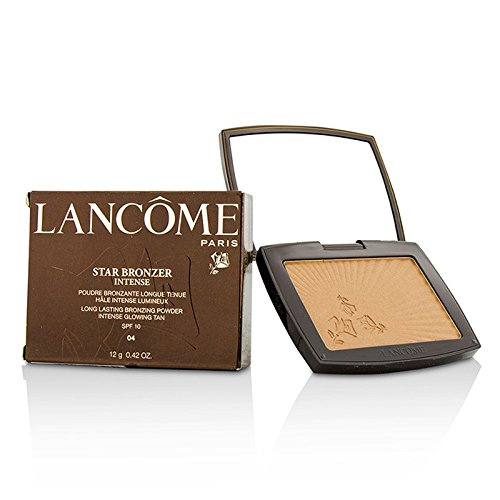 Lancome Star Bronzer Intense Long Lasting Bronzing Powder SPF10 (Intense Glowing Tan) - # 04 Eclat Ambre (Box Slightly Damaged) 12g/0.42oz