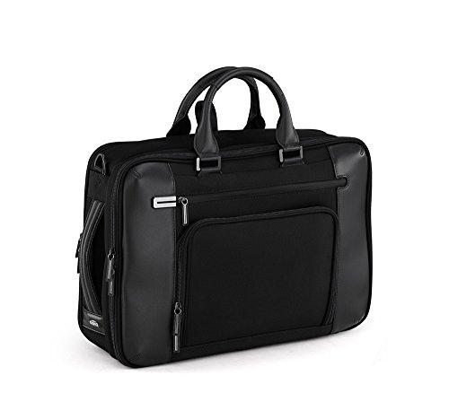 Black Zero Halliburton Briefcase (Zero Halliburton PRF 3.0 - Large Three-Way Briefcase, Black, One Size)
