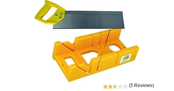 Builders Brand SP586 - Caja de ingletes con serrucho de costilla ...