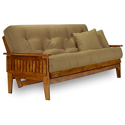 Queen Futon Set (Eastridge Futon Set - Queen Size, Frame, 8