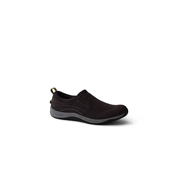 Womens Regular Everyday Comfort Slip-on Shoes - 4.5 - BLACK Lands End mKXKBPQ