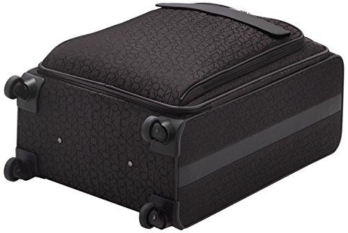Calvin Klein  Laptop Rollkoffer, 68 cm, 66 L, Schwarz