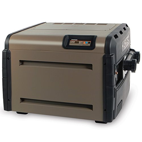 Hayward H400FDN Universal H-Series Low NOx 400,000 BTU Natural Gas Residential Pool and Spa Heater (Btu Natural Gas Pool Heater)