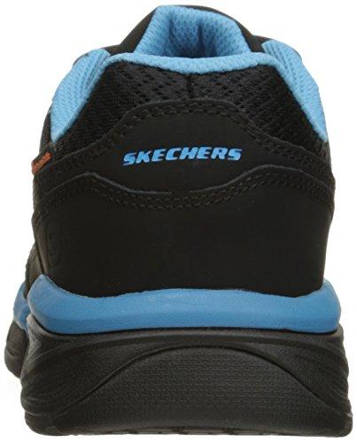 Skechers Voor Werk Dames Conroe Abbenes Antislip Schoen Zwart / Lichtblauw