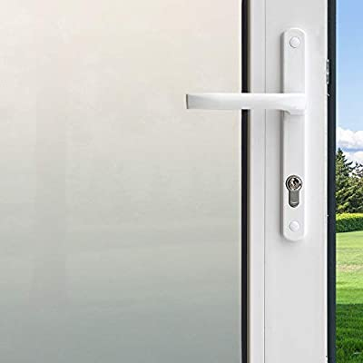 "Gila 50165292 Decorative Privacy Frosted Glass Film-36 x6.5' Window Film, 36"" x 6.5'"