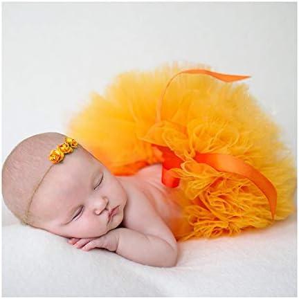 Pegcdu Baby-Kleidung Niedlich h/äkeln Neugeborene Baby-Foto-Props Kost/üm-Baby-Fotografie Props Kaninchen-Blumen-Baby-Outfits Set