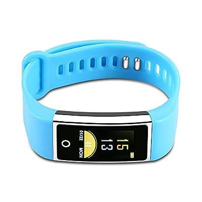 Edge Fit Fitness Tracker Sport Tracker Heart Rate Blood Presure Sleeping Monitor with Aluminium Frame