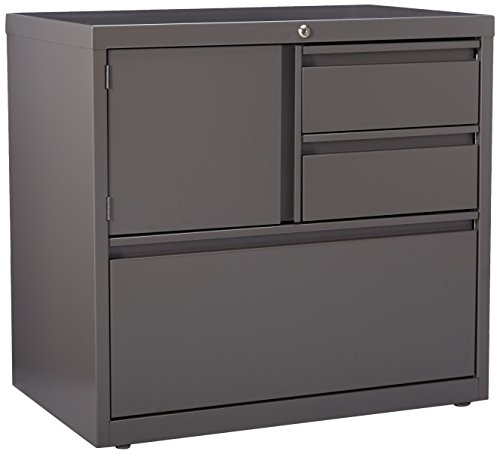 Lorell LLR60934 Personal Storage Center Lateral File, 30'' by Lorell
