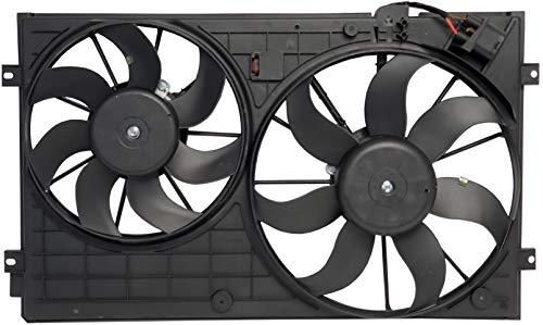 - Sunbelt Radiator And Condenser Fan For Volkswagen Jetta Beetle VW3120100 Drop in Fitment