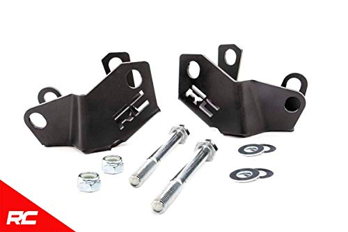 (Rough Country Rear Lower Control Arm Skid Plate Compatible w/ 2018-2019 Jeep Wrangler JL Armor 10589)