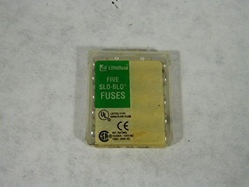 Littel Fuse 3AB-2A-326 Slo Blo Ceramic Fuse Box of 5 3ab Slo Blo Ceramic Fuse