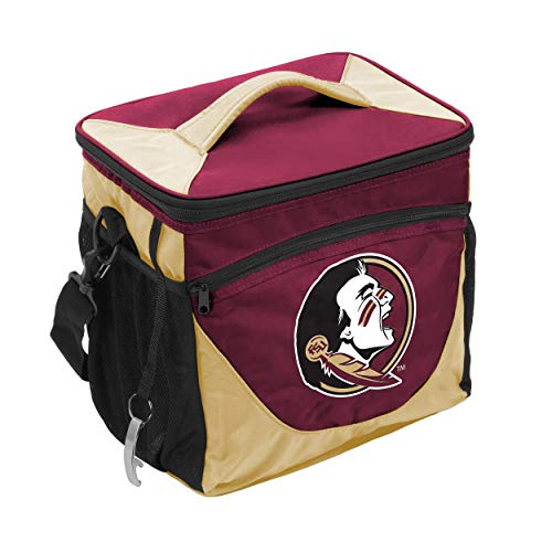 - NCAA Florida State Seminoles 24-Can Cooler with Bottle Opener and Front Dry Storage Pocket