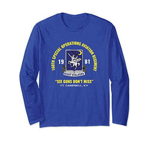 talkers Ft Campbell T Shirt Small Royal Blue (Special Operations Aviation)
