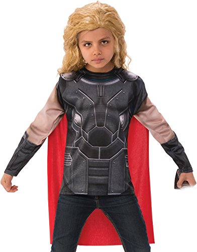 Child's Boys Marvel Universe Thor Ragnarok Costume Shirt And Cape