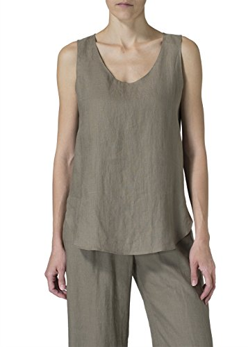 Vivid Linen Shell -2X-Light Tan