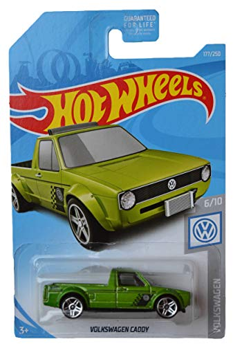 Hot Wheels Volkswagen Series 6/10 Volkswagen Caddy 177/250, Green ()