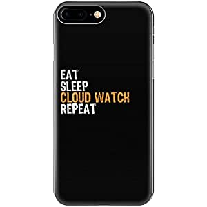 Eat Sleep Cloud Watch Repeat - Phone Case Fits Iphone 6, 6s, 7, 8