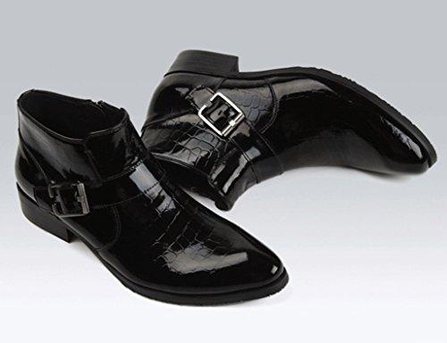 88c82c929e8b ... Herren Lederschuhe Herren Lederstiefel High-Top-Schuhe kurze Stiefel  britischen Stil Tide wies Martin ...