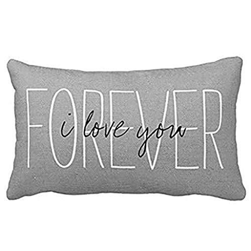 Feitengtd Household Comfortable Sleep Contracted Pure and Fresh Pillowcase Home Decor Cushion Cover for Sofa (C)
