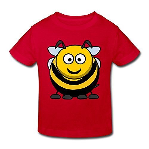 Yuying Cute Fat Bee Girls&Boys T-shirts For 2-6 Years Old 5-6 Toddler (Fat Halloween Meme)