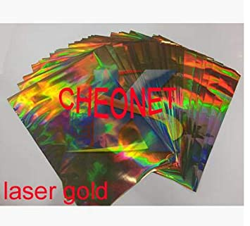 Tool Parts 50 Sheets 20X29Cm A4 Hot Stamping Foil Paper for