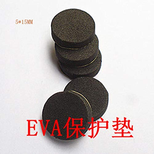 Gimax 100pcs/lot Speaker foam sponge pad Speaker foot mat Surround sound pad connector EVA protection pad 15mm - (Color: 100pcs a pack)