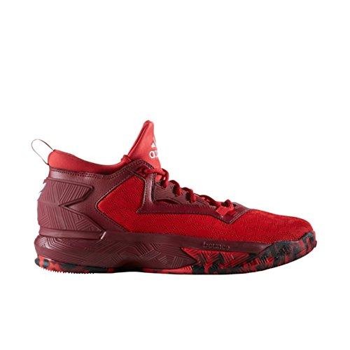 adidas D Lillard 2 Mens Fashion-Sneakers B42384_8 - CORE Black, CORE Royal, Grey
