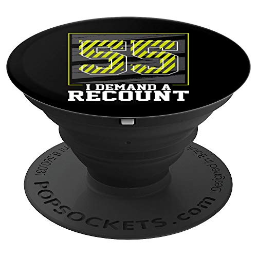 55th birthday gifts for men 1965 demand a recount gag gift PopSockets Grip and Stand for Phones and Tablets