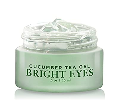 BASQNYC Cucumber Tea Eye Gel, 0.5oz