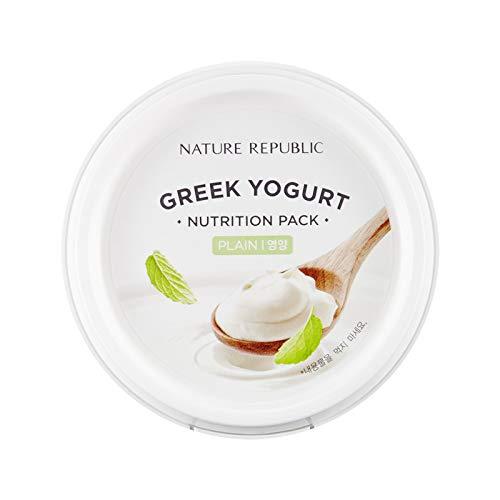 Nature Republic Greek Yogurt Pack Plain 130 ml / 4.39 fl. oz. (Best Natural Greek Yogurt)