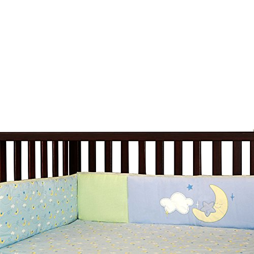Wish I May Laugh, Giggle & Smile Wish I May 4-Piece Bumper Pad (Giggles 4 Piece Crib Bedding Set)