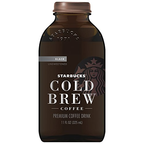 Starbucks Cold Brew Black Coffee, Unsweetened, 11 oz