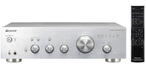 Pioneer A-20-S Stereo-Verstärker (2x 50 Watt, Loudness Funktion) silber