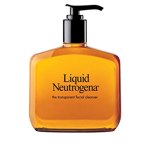 Liquid Neutrogena Fragrance-Free Facial Cleanser with Glycerin, Hypoallergenic & Oil-Free Mild Face Wash, 8 fl. oz from Neutrogena