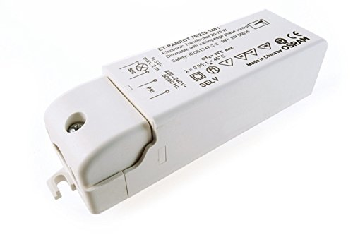Osram 561256 220-240 V AC ET-Parred 70 Electronic Voltage Constant Dimmable Phase Alignment Mains Unit, White